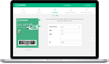 create marketing content for mobile wallets in minutes